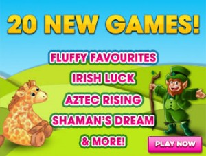 Luckypants Bingo New Games